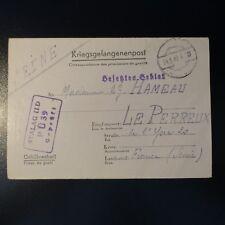 LETTRE PRISONNIER DE GUERRE STALAG II D 24.05.42 KRIEGSGEFANGENENPOST POW