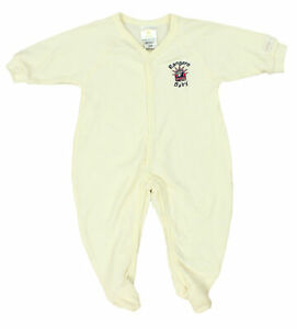 NHL Infant New York Rangers Retro Sleeper Pajamas, Cream