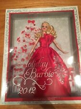 2012 Holiday Barbie Special Edition Blonde Doll NRFB Mattel #W3465