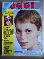 OGGI n°10 1967 Mia Farrow Festival Sanremo Orietta Berti Rita Pavone [Q15]