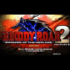Used Bloody Roar 2 Bringer of The New Age PCB P.C.Board Rising 8ing 1998 JAMMA