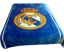 Real Madrid Cloud Soft Queen Blanket Official Licensed