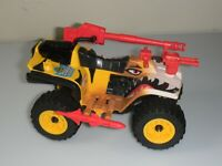 Lot 1988 GI Joe Tiger Force Tiger Paw ATV Quad 4 Wheeler *Not Complete READ*