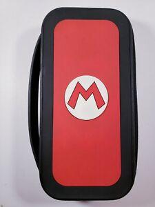 SUPER MARIO Nintendo Switch Travel Carrying Case Bag - Game Cartridges Storage