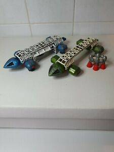 2!! DINKY VINTAGE EAGLE FREIGHTERS  SPACE 1999 GERRY ANDERSON