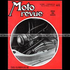 MOTO REVUE N°1306 MAICO 250 BLIZZARD AERMACCHI CORSAIR ZEPHIR CROSS NATIONS 1956