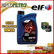 KIT TAGLIANDO 4LT OLIO ELF MOTO TECH 10W50 DUCATI 620 Monster i.e. 620CC 2003-20