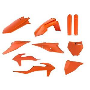 Polisport KTM Plastic Kit to fit SX 2019 20 21 2022 SX SXF All Orange 91072