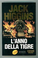 HIGGINS JACK L'ANNO DELLA TIGRE SPERLING PAPERBACK 2002 SUPERBESTSELLER 872