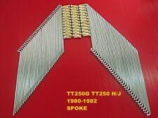 YAMAHA TT250G TT250 H/J 1980-1982 FRONT SPOKE 36 Pcs. NIPPLE GOLD JAPAN [mi1086]