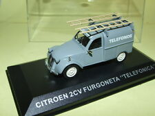 ALTAYA CITROEN 2 CV CAMIONNETTE ''TELEFONOS''