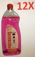 12 conf da 1 Litro, Alcool non infiammabile profumato, Polialcol Domeko