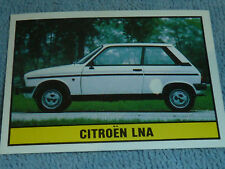Sammelsticker Nr. 62 Bild Sticker Auto 2000 Citroen LNA Panini 1985