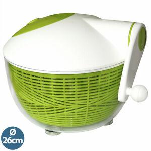 Salatschleuder Salattrockner mit Kurbel XL Version mit 26cm Durchmesser