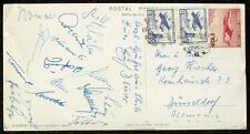 S1674) Football-WM 1962 in Chili AK AUTOGRAPHE CARTE de la Deutsche National joueur