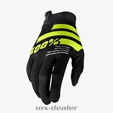 2020 100% Prozent itrack Handschuhe schwarz fluo MTB DH MX BMX Motocross Enduro