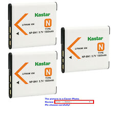 Kastar Repacement Battery for Sony NP-BN1 BC-CSN & Sony Cyber-shot DSC-W800