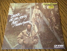 "RICHIE HAVENS - DEATH AT AN EARLY AGE  7"" VINYL PS"