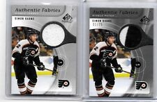 SIMON GAGNE 2006 SP GAME USED  GAME WORN JERSEY & 2 COLOR PATCH#/75