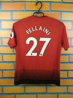 Fellaini Manchester United Jersey 2018 2019 Home Youth 11-12 Shirt CG0048 Adidas