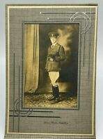 WW1 Photographer Saskatoon Saskatchewan Soldier Cabinet Photo