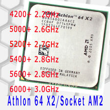 AMD Athlon 64 X2 4200+ 5000+ 5200+ 5400+ 5600+ 6000+ Socket AM2 CPU Processor