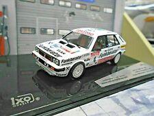 LANCIA Delta HF 4WD 4x4 Neuseeland Rallye 1987 #4 Wittmann Funkberater IXO 1:43
