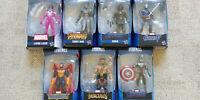 Avengers Marvel Legends Wave 1 Set of 7 Figures Only No Thanos BAF