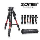 ZOMEI Q111 Professional Travel Tripod&Pan Head Aluminum Portable For DSLR Camera