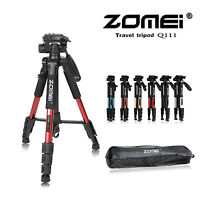 Zomei Q111 PanHead Tripod travel Portable for Canon Nikon Sony Camera UK Seller