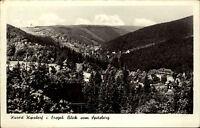 Kipsdorf Erzgebirge Sachsen alte DDR Postkarte 1965 Gesamtansicht vom Spitzberg