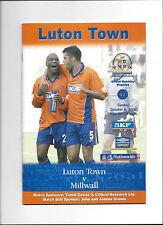 LUTON TOWN - MILLWALL FC 08.10.2000, 2000/2001