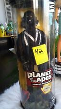 1999 Planet of the Apes Gorilla Sergeant Figure Doll rotating stand vintage