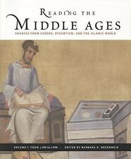 Reading The Middle Ages Vol1: C.300 To C. 1150 Rosenwein