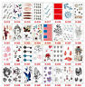 Fresh Style Stick On Body Arm Art Temporary Tattoo Fake Removable Waterproof