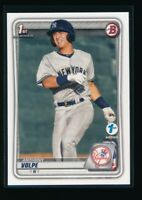 ANTHONY VOLPE 2020 Bowman Paper 1st Edition New York Yankees Rookie Card RC