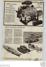 1961 PAPER AD Models ITC Battling Betsy USS Enterprise Aircraft Carrier Mercer