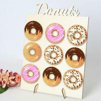 Donut Doughnut Wall Stand Home Party Wedding Favour Birthday Sweets Candy Cart
