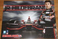 2013 Jr Hildebrand National Guard Chevy Dallara Indy Car postcard