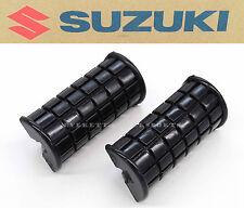 New Genuine Suzuki Foot Peg Rest Rubber Set 74-77 RE5 GT380 GT550 GT750 OEM #G31