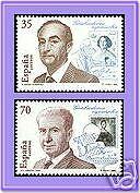 ESPAÑA 1998 3550/1 Grabadores 2v.