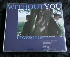 Without You cd 42 love songs UK CD - Various Artists 1991 3 disc set BMG Records