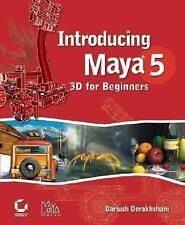 Introducing Maya 5: 3D for Beginners - Acceptable - Derakhshani, Dariush - Paper