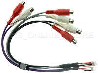 CLARION NX-706 NX-807 VX-807 GENUINE A//V MIC CAMERA RCA HARNESS SPECIAL ORDER