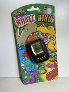 New Vintage Nano Dino Whale 2 in 1 - Tamagotchi Type Electronic Pet Bootleg KO