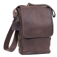 Leather Military Style Tech Bag For Ipads Tablets Shoulder Strap Rothco 57950