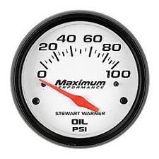 Stewart Warner 114256 Oil pressure Gauge / Electrical Sending Unit Included