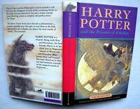 Harry potter And The Prisoner Of Azkaban, Hardback, 1ST Ed, 3RD Print, 1999.