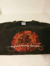 Vintage A Perfect Circle Xl 2000 Tour T Shirt Tool Maynard James Keenan Rare!