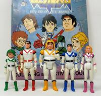 Vintage Voltron Figures 1984 WEP Pidge Hunk Allura Lance Keith Panosh Place Figs